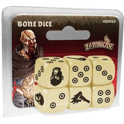 Zombicide : Black Plague - Bone Dice