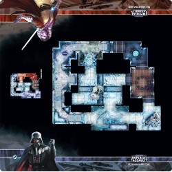 Assaut sur l'empire - Tapis de jeu - Nelvaanian War Zone Skirmish Map - Playmat