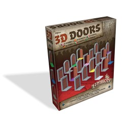 Set de Portes 3D - 3D Doors Pack - Zombicide : Black Plague