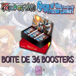 BONUS PROMO Boite De 36 Boosters Force Of Will L1 - La Malédiction du Cercueil de Glace (FR)