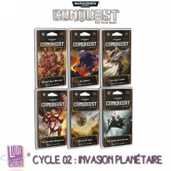 Cycle 2 Invasion Planétaire Complet - 6 Packs