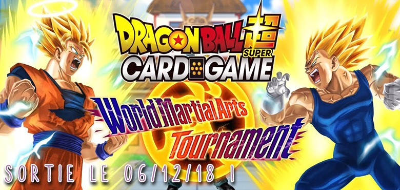 Dragon Ball Super Card Game TB2 World art martial Tournament