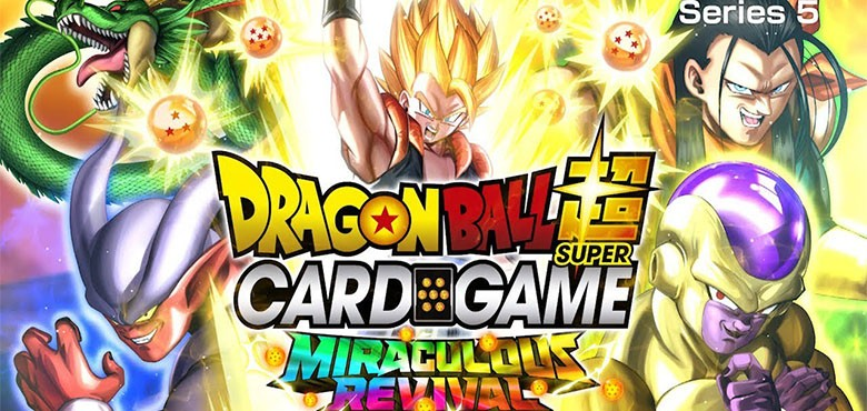 Dragon Ball Super Card Game BT5 Miraculous Revival